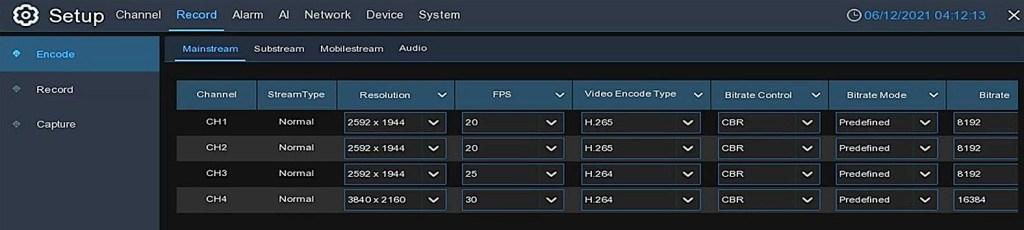 8 channel NVR IPvault1128PR 5MP video