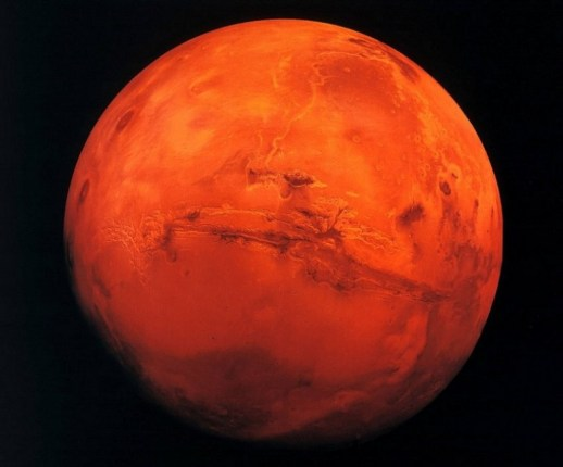 La superficie di Marte è solcata da reti idrografiche