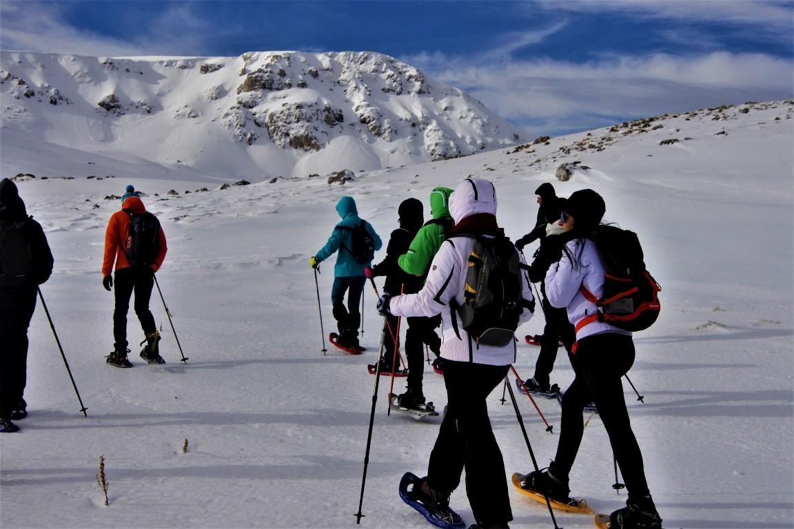 Le attività con le guide di Camminare in Abruzzo (29/12/2018-2/1/2019)