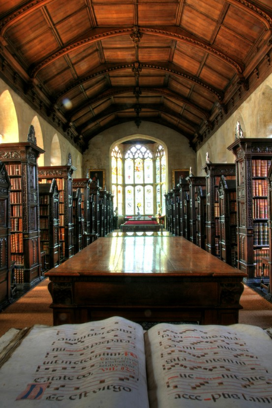 Old Library, St. John's College, Cambridge, England
