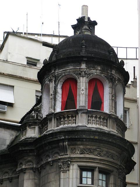 Red Curtains, Rio de Janeiro, Brazil