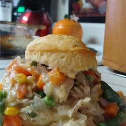 Meat And Poultry – Chicken Biscuit Pie
