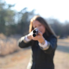 Gun Safety-  What's Wrong with this Photo??