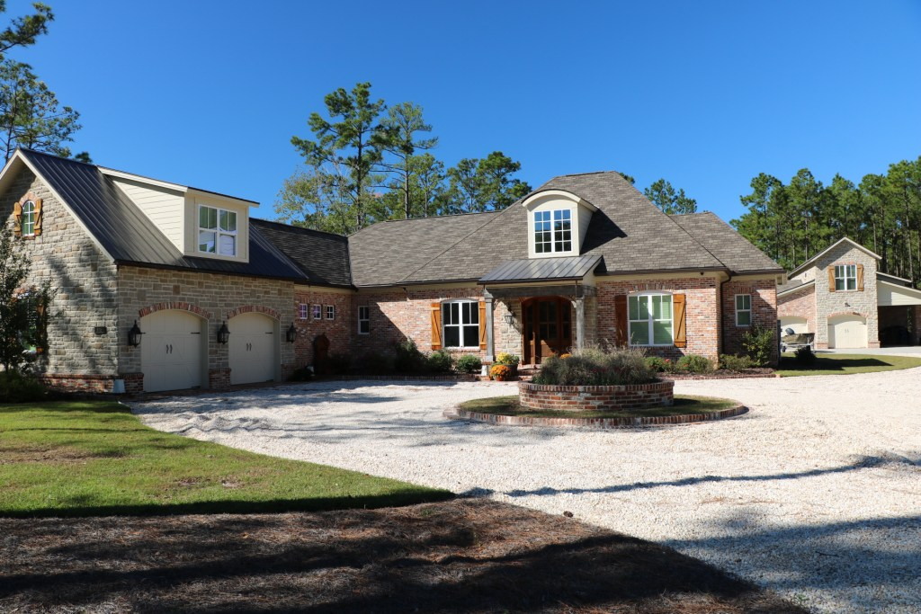 Stunning custom home and backyard cabin