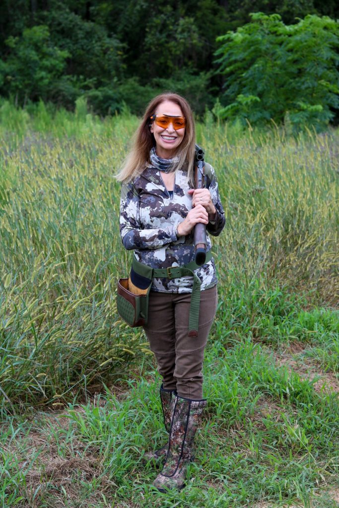 What should you wear when dove hunting?