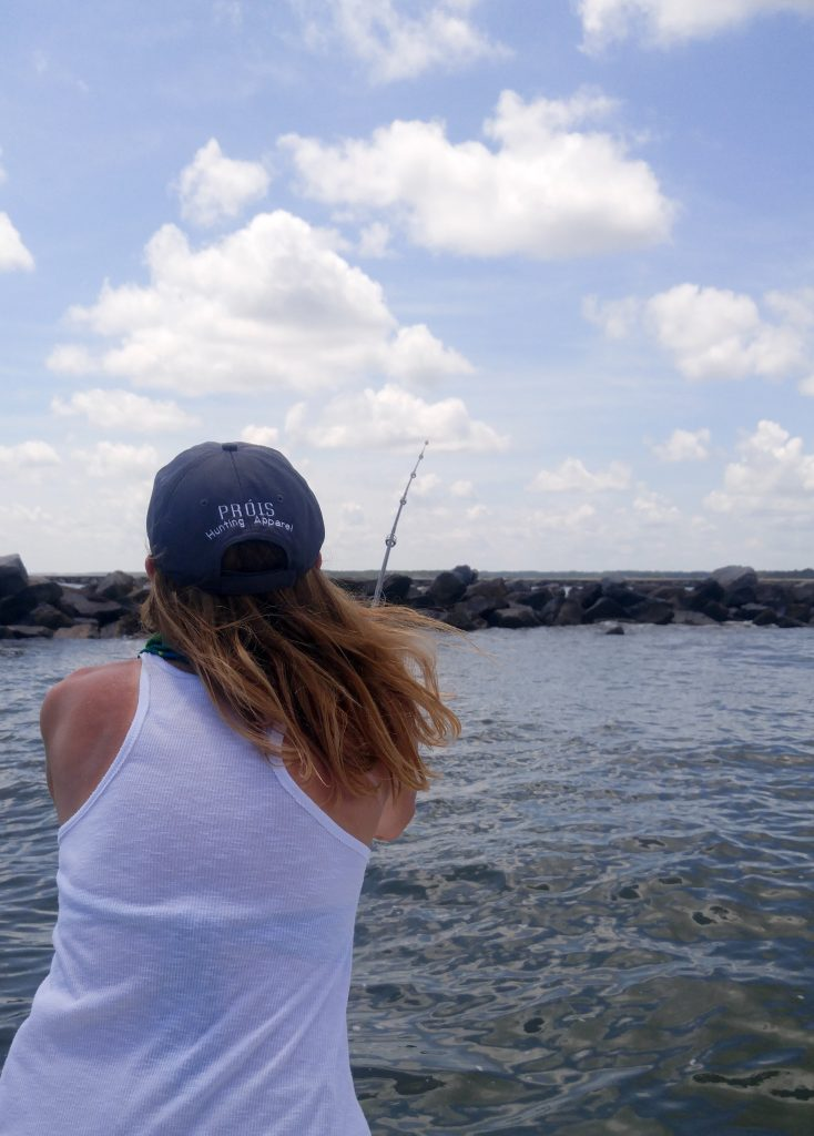 what is it like to fish the jetties