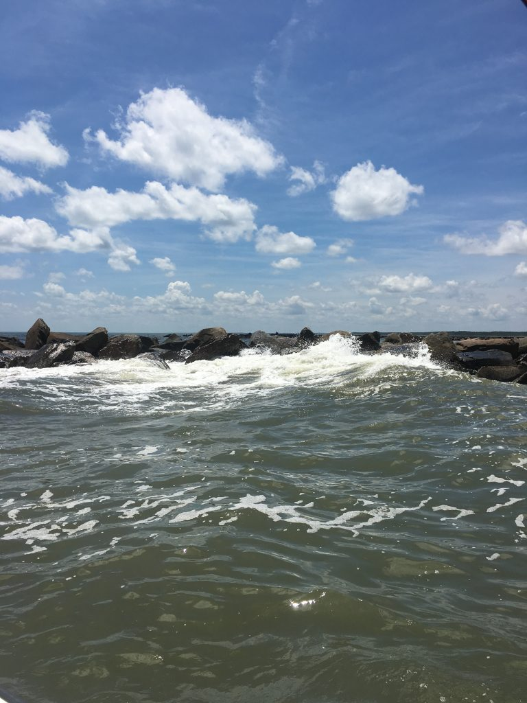 what are the dangers of fishing the jetties