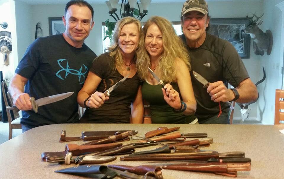 hunters who love knives