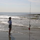 Getting Schooled on Surf Fishing!