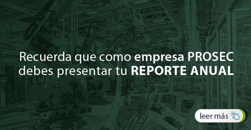 Reporte Anual PROSEC