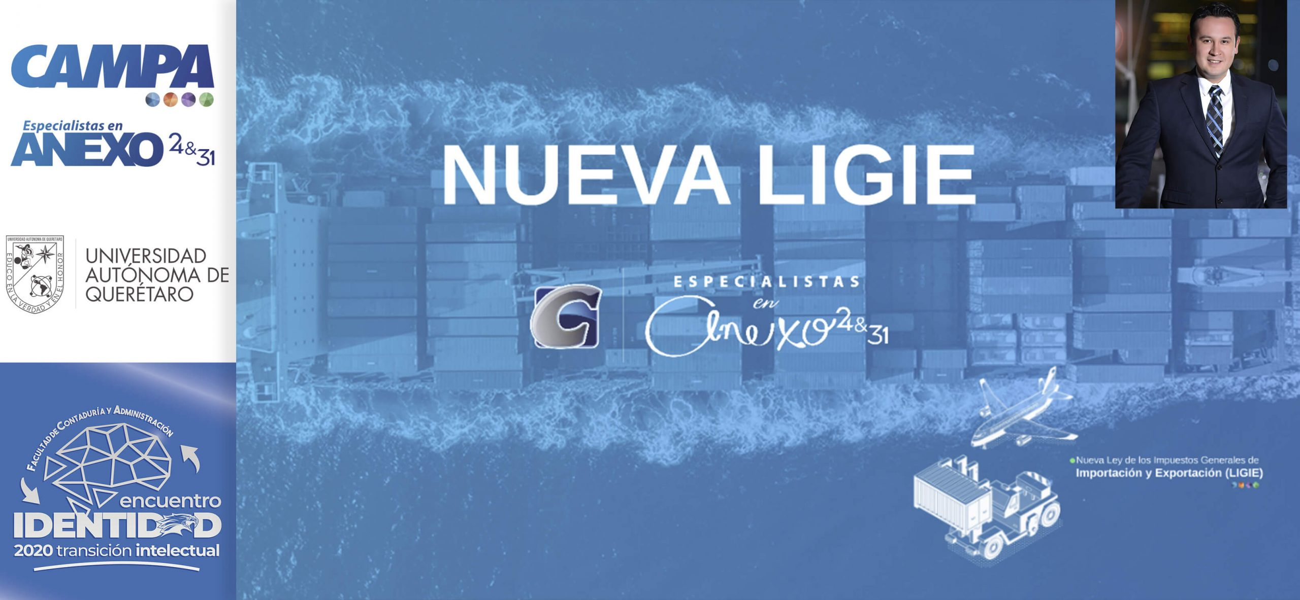 La Nueva LIGIE- ENCUENTRO IDENTIDAD 2020 UAQ