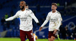 Arsenal beat Brighton to secure a second win in a roll