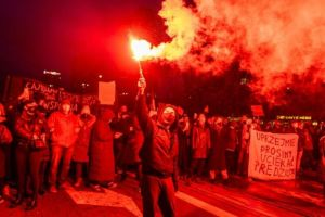 Protests as Poland adopts near-total ban on abortion