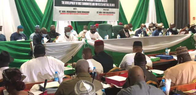 Drama as host communities fight at House of Reps PIB Public hearing