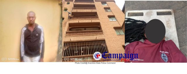 Man Allegedly Push Girlfriend From A Five Storey Building Following A Quarrel In Anambra