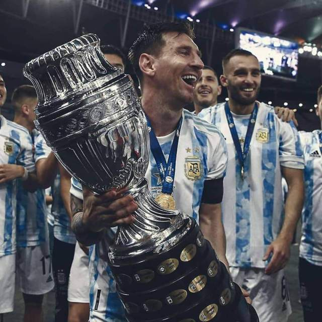 Lionel Messi finally won national trophy as Argentina beat Brazil to win 2021 Copa America