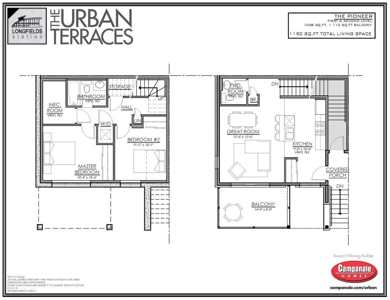 Terrace Home In Barrhaven For Rent