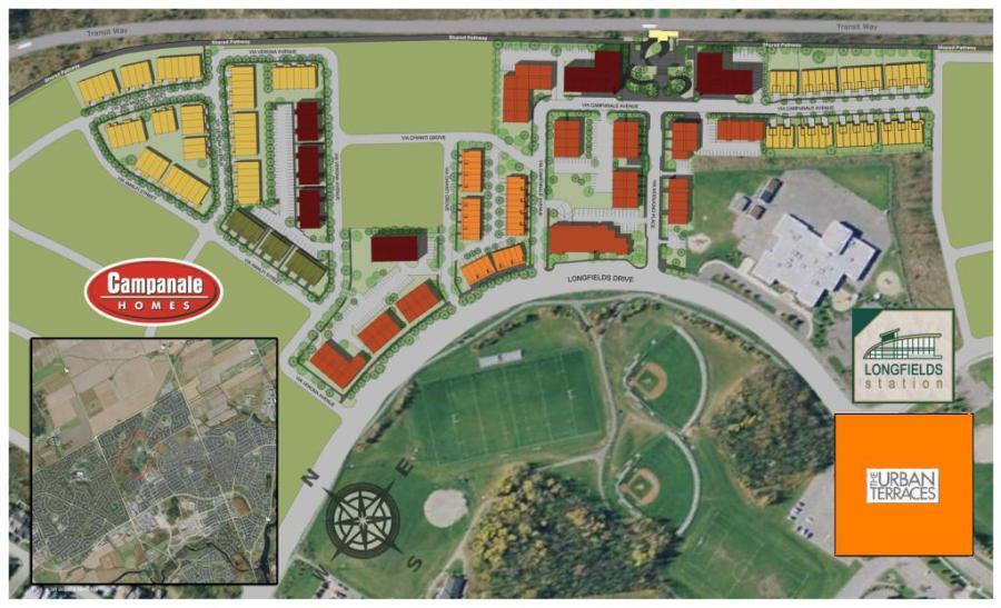 Urban Terraces Location Map