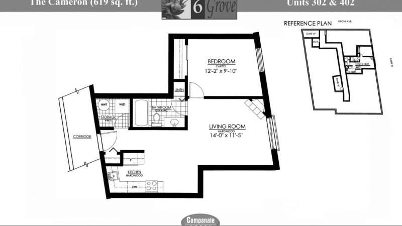 6 Grove Floorplan - Cameron