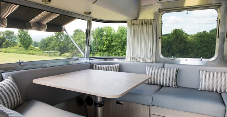 airstream inside airstream globetrotter interior rv