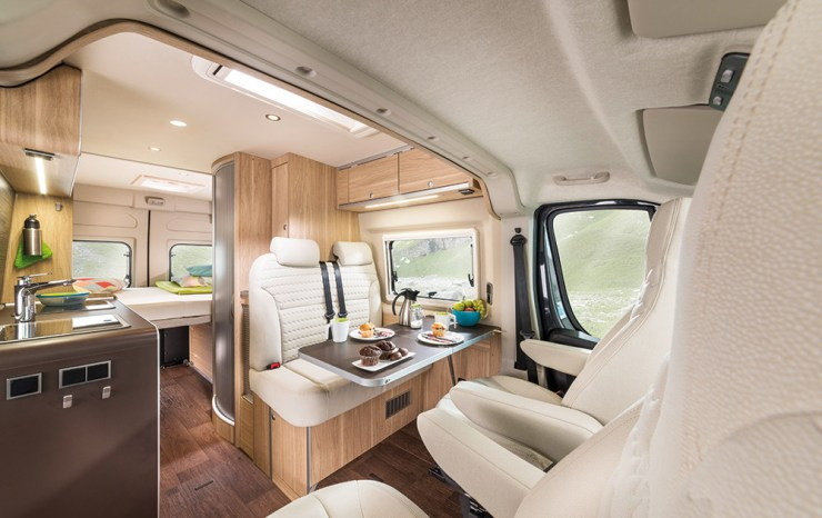hymer rv aktiv campervan interior
