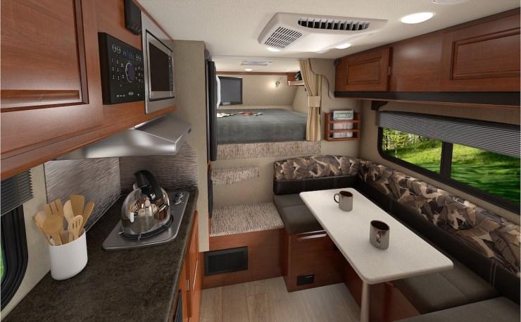 lance truck camper interior