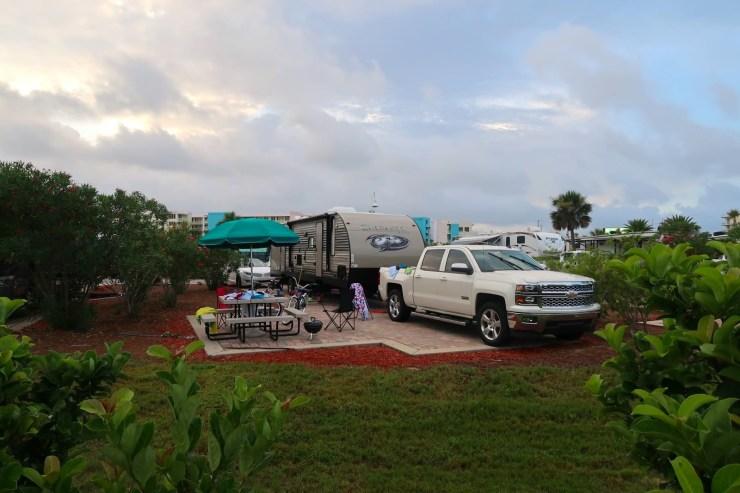 rv road trip family camp