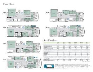 floorplan rv floor plans compare