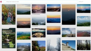 pinterest hiking search hikes hikers how to use pinterest for rving