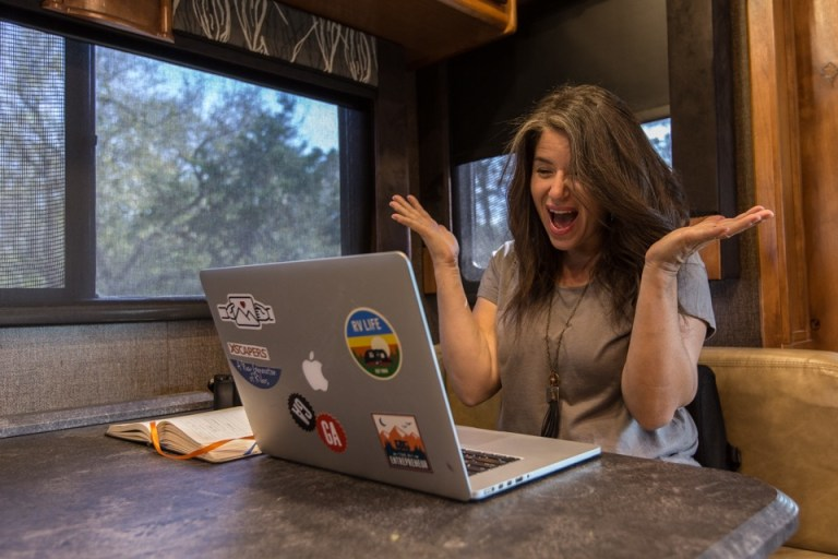 How I Found Remote Work While RVing