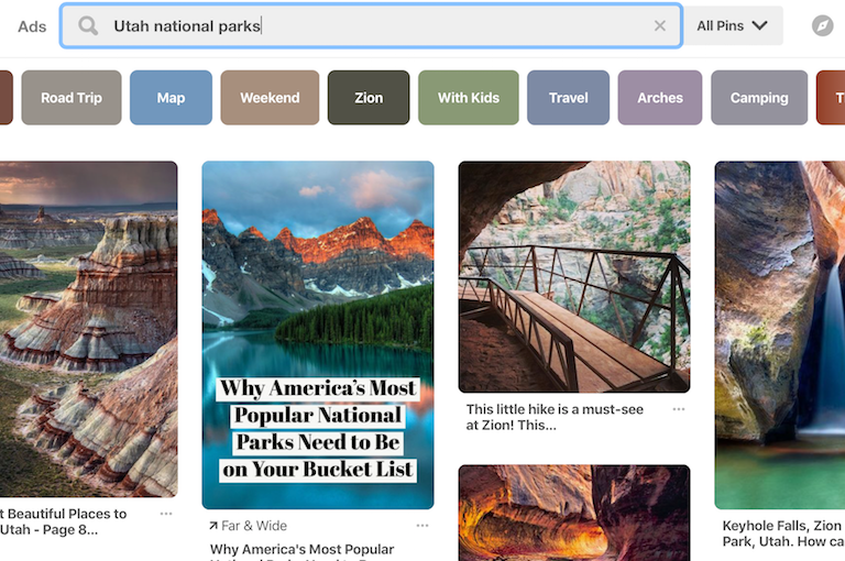 How To Use Pinterest To Plan Your RV Trip