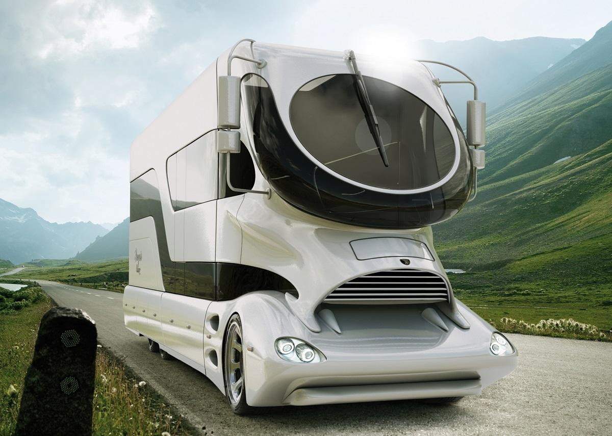 gro schnell luxuri s wohnmobile der superlative. Black Bedroom Furniture Sets. Home Design Ideas