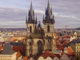Eine Kirche in Prag