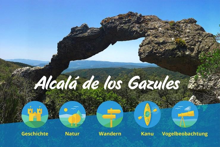 Los Alcornales Spanien im Camper