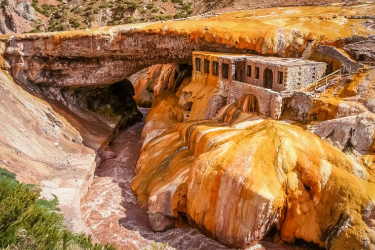 Brücke Punta del Inca