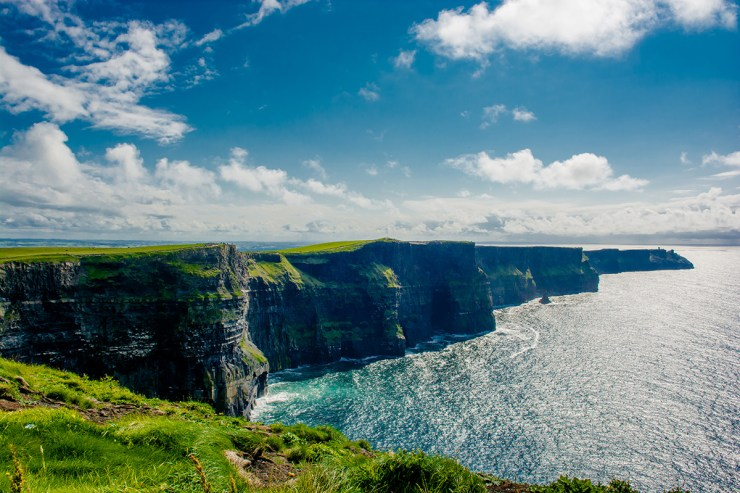 Steilküste Irlands