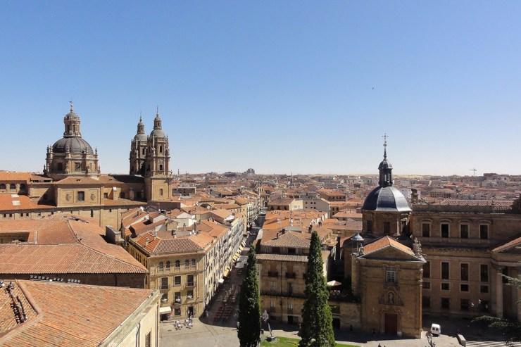 Salamanca aus der Vogelperspektive