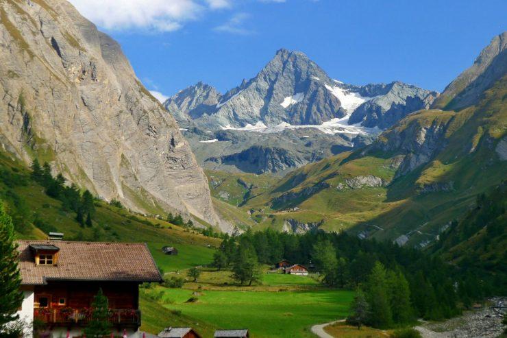 Der Großglockner in Österreich