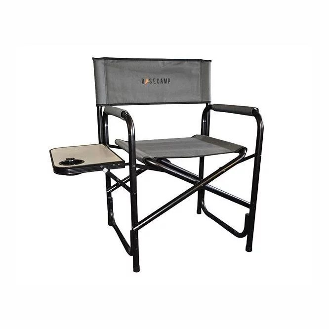Basecamp Directors Chair With Side Table Camp And Climb Outdoor