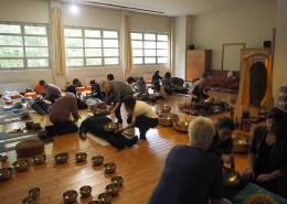 La sala dei corsi - Campane Tibetane Torino