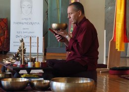 Campane Tibetane: Dario Gasparato, la cerimonia