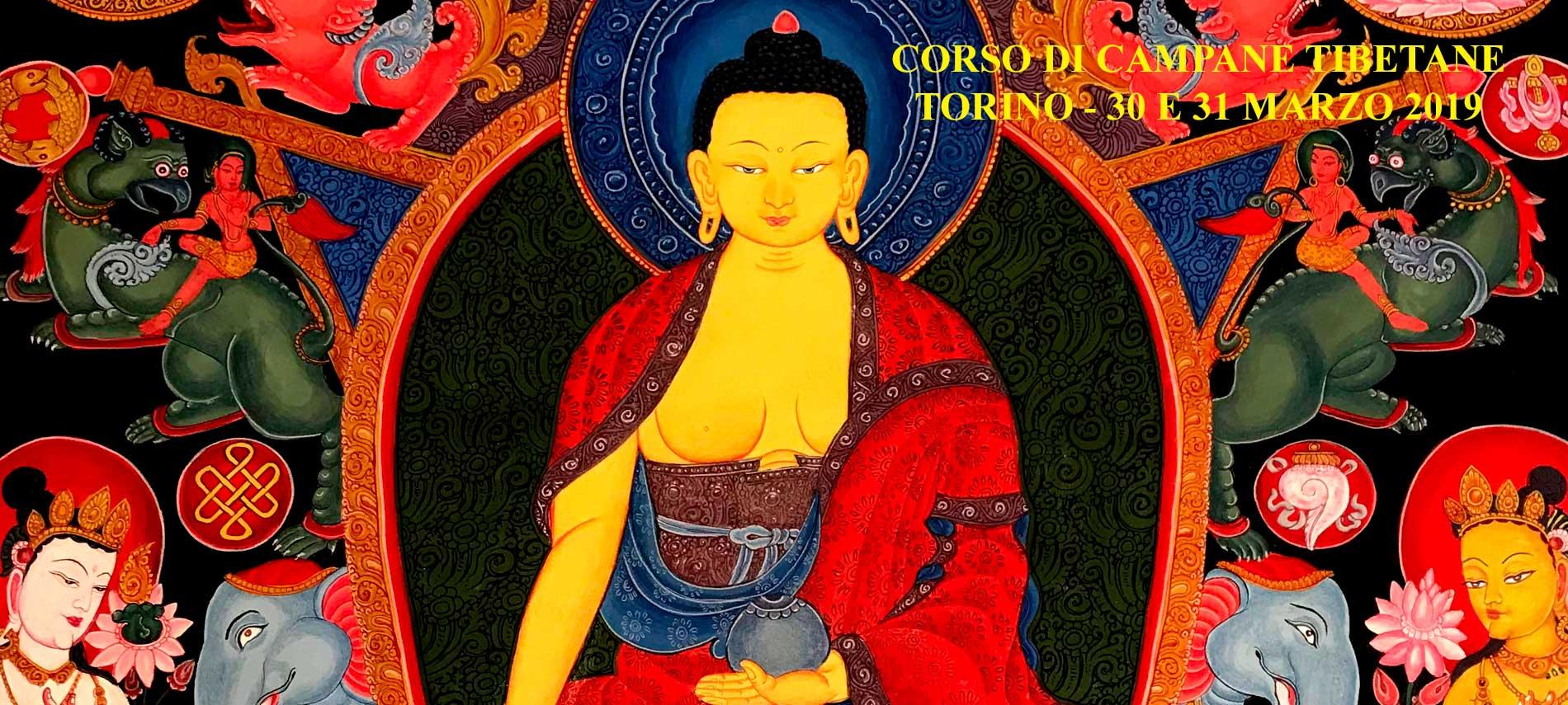 Corso di Campane Tibetane - Torino - 30 e 31 marzo 2019 - Sono aperte le iscrizioni