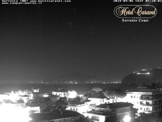 Sorrento - Vista sul Vesuvio