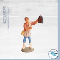 CampaniaTipica - KREATIVI - Presepe Uomo con lanterna