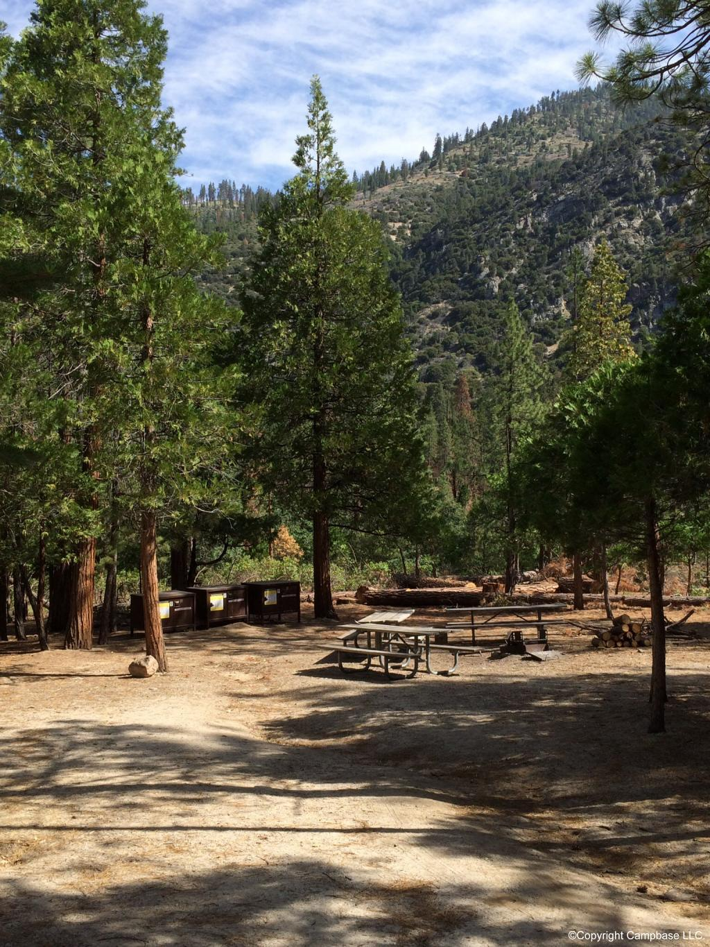 Canyon View Campground Sequoia Np Three Rivers California
