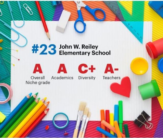 Congratulations To Donald E Cline Elementary And John W Reiley Elementary Who Were Ranked In The Top 25 Schools In Greater Cincinnati