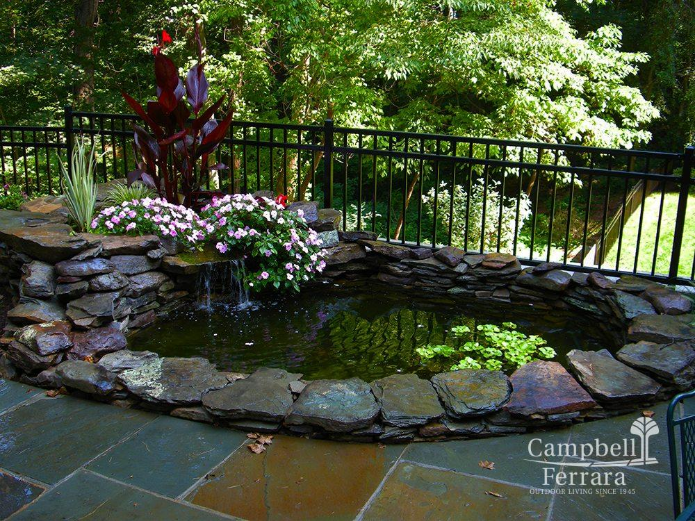 Yard Ponds Amp Waterfalls Landscaping Alexandria Va