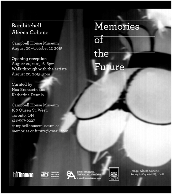 Invitation to Memories of The Future Opening Reception