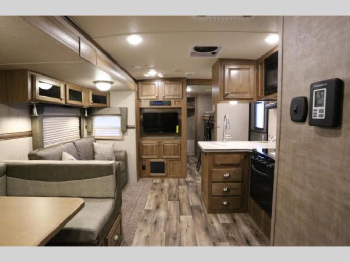 Forest River Flagstaff V Lite Travel Trailer  3 Can t Miss Benefits     New Flagstaff V Lite Travel Trailer Interior