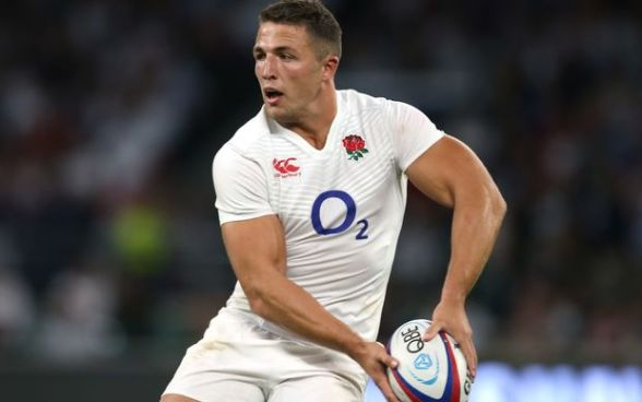 The new lean Sam Burgess in England RU colours
